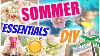 READY FOR SUMMER ~Essentials, DIY Food | Julia Beautx