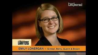 Gimbel, Reilly, Guerin & Brown, LLP Video - Emily Lonergan - 2015 Up and Coming Lawyers - Wisconsin Law Journal