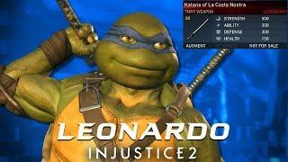 Injustice 2: First Ever Leonardo Legendary Gear Showcase (PS4)