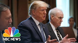 Donald Trump Defends Tweets About Congresswomen: 'They Shouldn't Hate Our Country' | NBC News