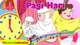 Lagu Anak Indonesia Bangun Tidur Taman Kanak Kanak | Kastari Animation Official