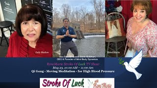 Qi Gong   Moving Meditation   for High Blood Pressure ReneMarie Stroke Of Luck TV Show May23 rd