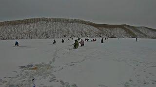 Рыбалка в Приморье Река Волчанка 18 01 2021 г