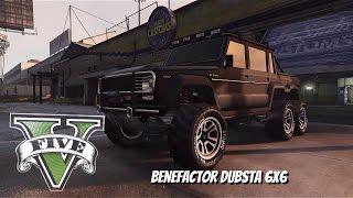 GTA 5 | Тачку на прокачку #1 | 6 колёсный монстр