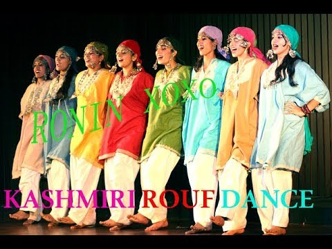 Rouf Dance being Performed by Kashmiri women in Andra Pradesh