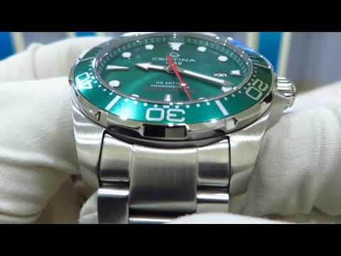 Certina DS Action Diver Automatic Green C032.407.11.091.00