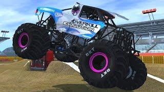 20 Breakable Truck Serenity Fields Freestyle - BeamNG.Drive Monster Jam