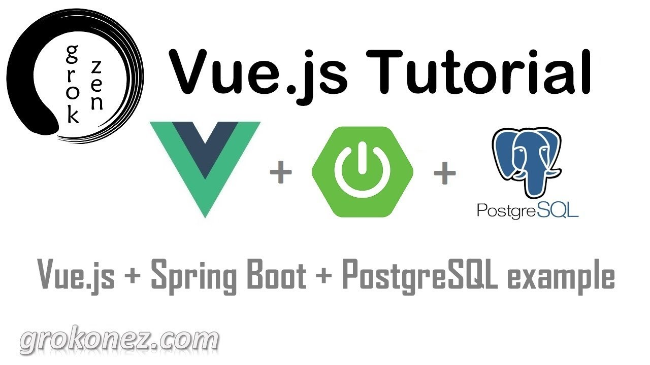 Spring Boot + Vue js example | Spring Data JPA + REST + PostgreSQL CRUD Demo