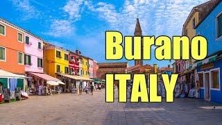 Красивые места в Италии - Венеция, квартал Бурано(В Италии очень много красивых мест и мы начинаем серию видео, где покажем вам самые интересные и красивые..., 2015-07-26T16:35:30.000Z)