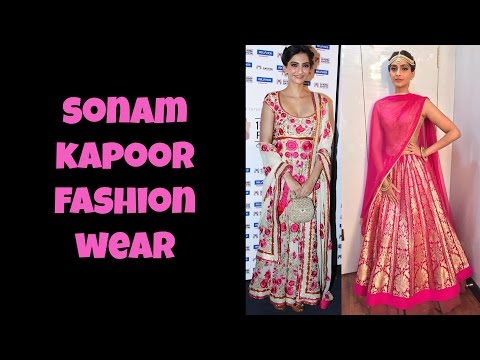 Sonam Kapoor Fashion Wear