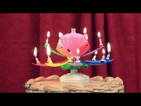 Amazing Rainbow Birthday Candle Wholesale at www InterGreet com