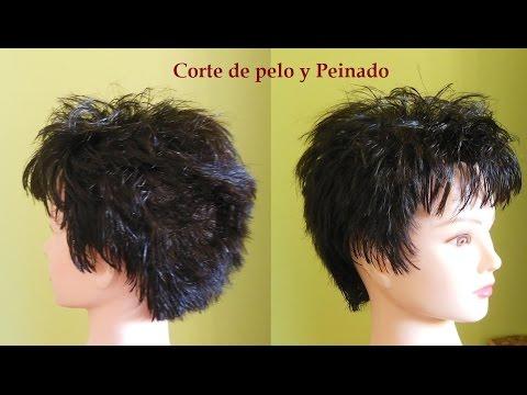 Corte de pelo corto mujer Cmo cortar un corte de pelo corto