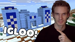 I Found An Igloo In Minecraft (Life changing)  - Minecraft Hardcore #14