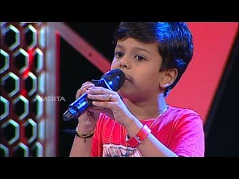 Super Star Junior - 5 | Sreenandh  Singing - Neela Mala Poonkuyile