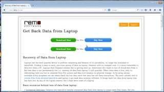 Best Way to Recover Data from Laptop - Restore All Deleted or Lost Files