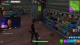 NICKMERCS FUNNY MOMENT | LIVE TWITCH STORY His Fight with Gym Fitness Instructor | FORTNITE