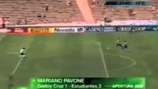 Mariano Tanque Pavone - Estudiantes vs Godoy Cruz - Apertura 2006