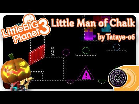 LBP3 LITTLE BIG PLANET LITTLE MAN OF CHALK | LBP Community Level