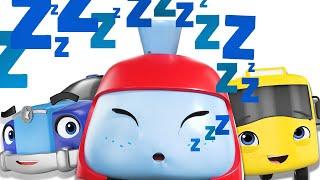 Buster And The Sleepy Train | Best BabyBus Songs | Kids Cartoon | Nursery Rhymes | Little Baby Bum