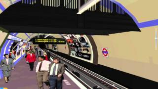 OpenBVE - London Underground - Northern Line