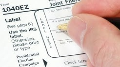 How to File Your Own Taxes: 1040-EZ