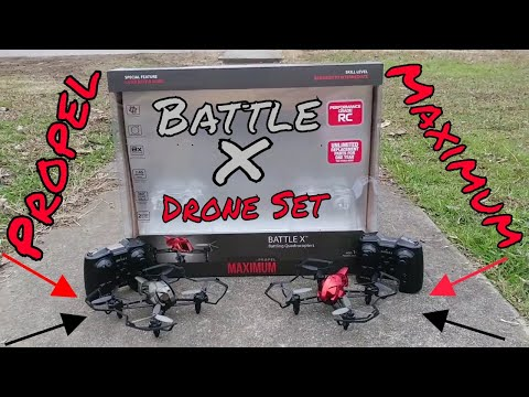 Propel Maximum Battle X Drone Set First Look