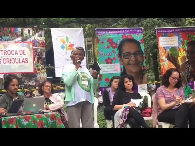 Dona Dijé, liderança quilombola no IV ENA