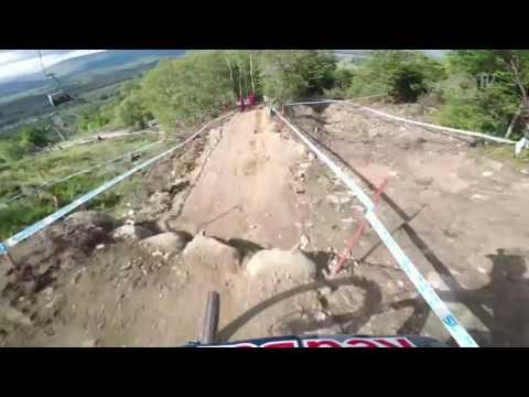 Loic Bruni POV in Fort William - 2017 UCI World Cup - Track