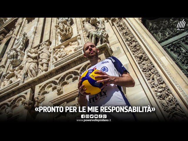 Powervolley Milano, l'intervista di Riccardo Sbertoli dopo il rinnovo