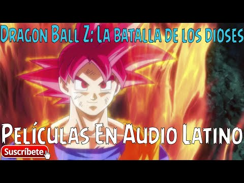 DRAGON BALL Z: LA BATALLA DE LOS DIOSES - [2013] [Audio Latino] [BRRIP] [2 Link]