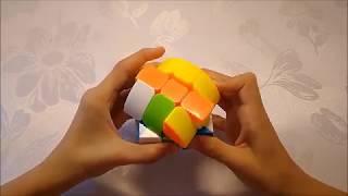 Как собрать цилиндр Рубика