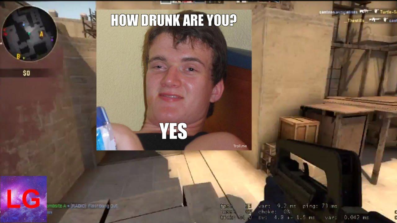 Funny Drunk Guy Meme : Irish traveller calls for a fight part funny subtitle version