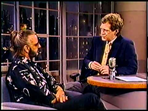 Ringo Starr on Late Night with David Letterman 1989
