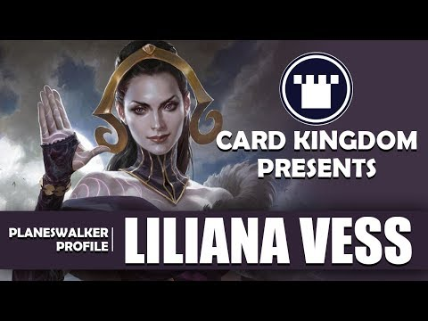 Magic The Gathering Liliana » planeswalker
