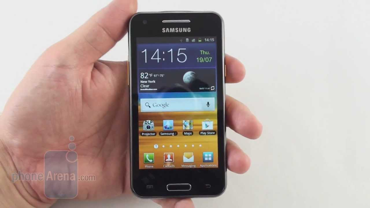 f602b1bb6c7 Samsung Galaxy Beam Review - YouTube