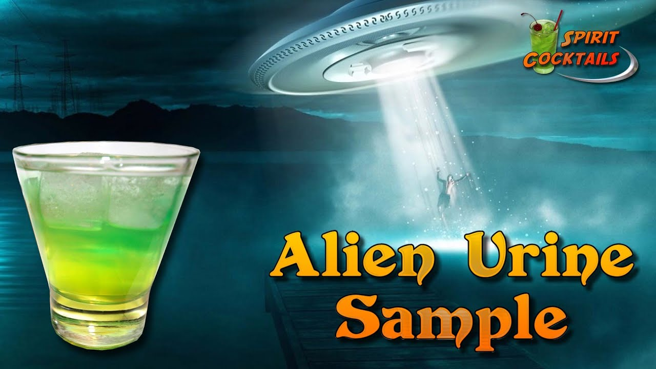 Alien urine sample cocktail youtube for Cocktail urine