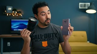 Samsung Galaxy Note 9 Camera vs Sony A7III