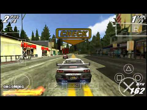 Burnout Legends (2005) Game Play Android PS 2 Ppsspp