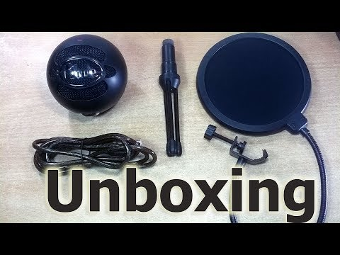 Blue Microphones Snowball Ice Condenser Microphone Cardioid Review