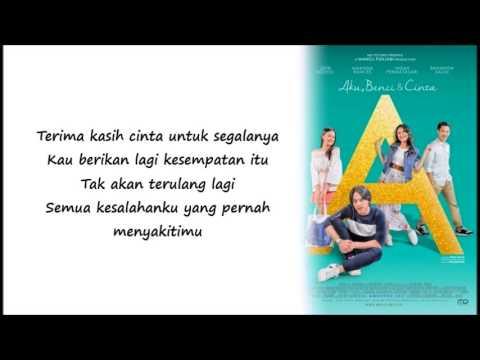 Terima Kasih Cinta - Soundtrack  A [Aku, Benci, & Cinta] + LIRIK LAGU