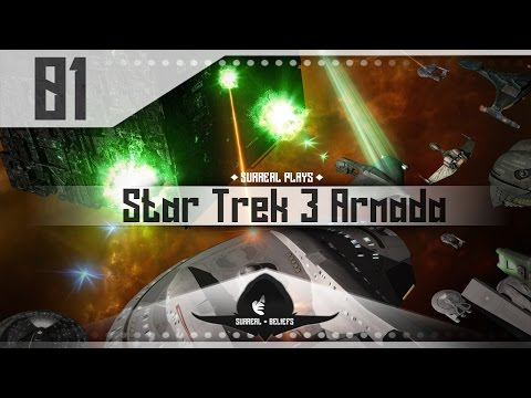 Star Trek Armada 3 : A Call To Arms Mod Gameplay - BATTLE OF WOLF 359