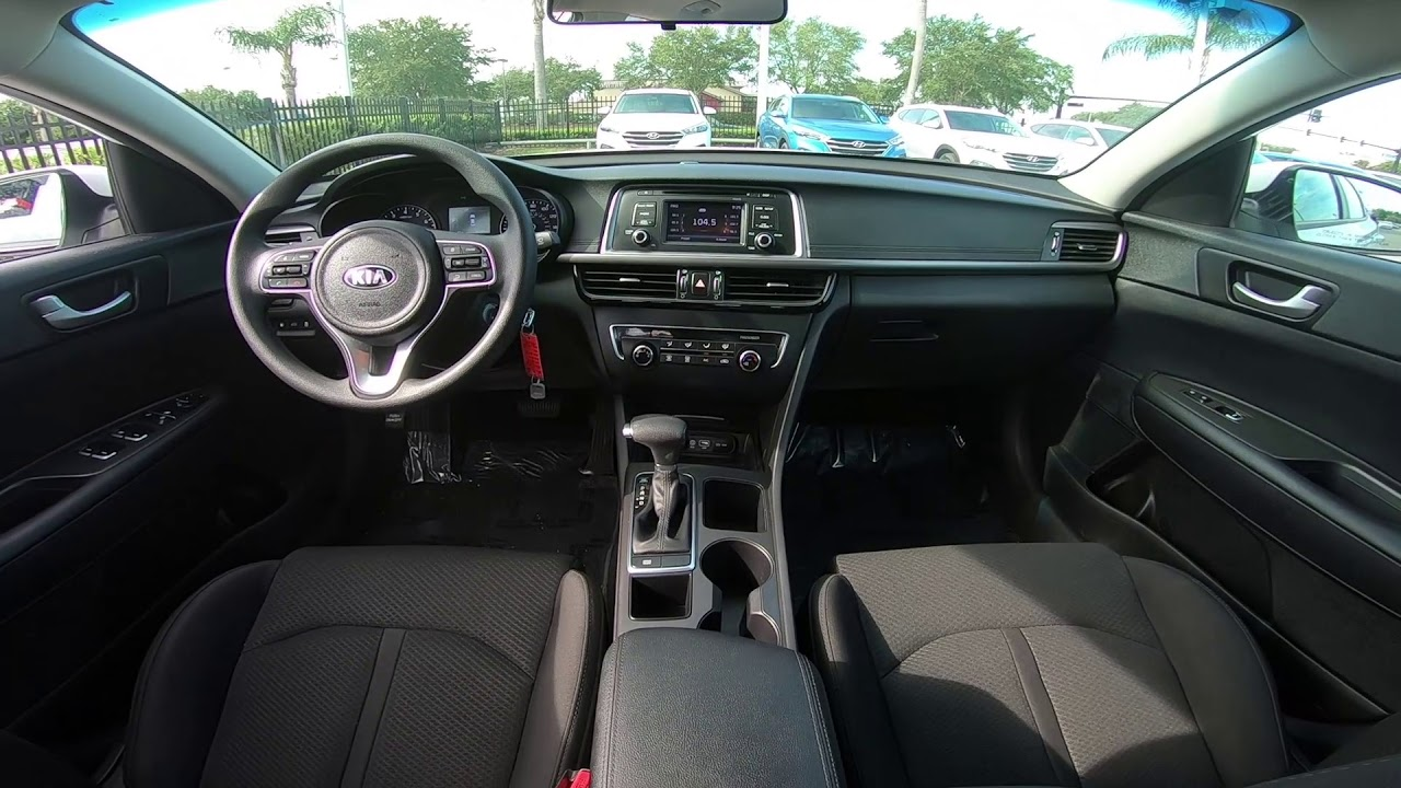 Kia Optima Interior >> 2017 Kia Optima Lx Interior