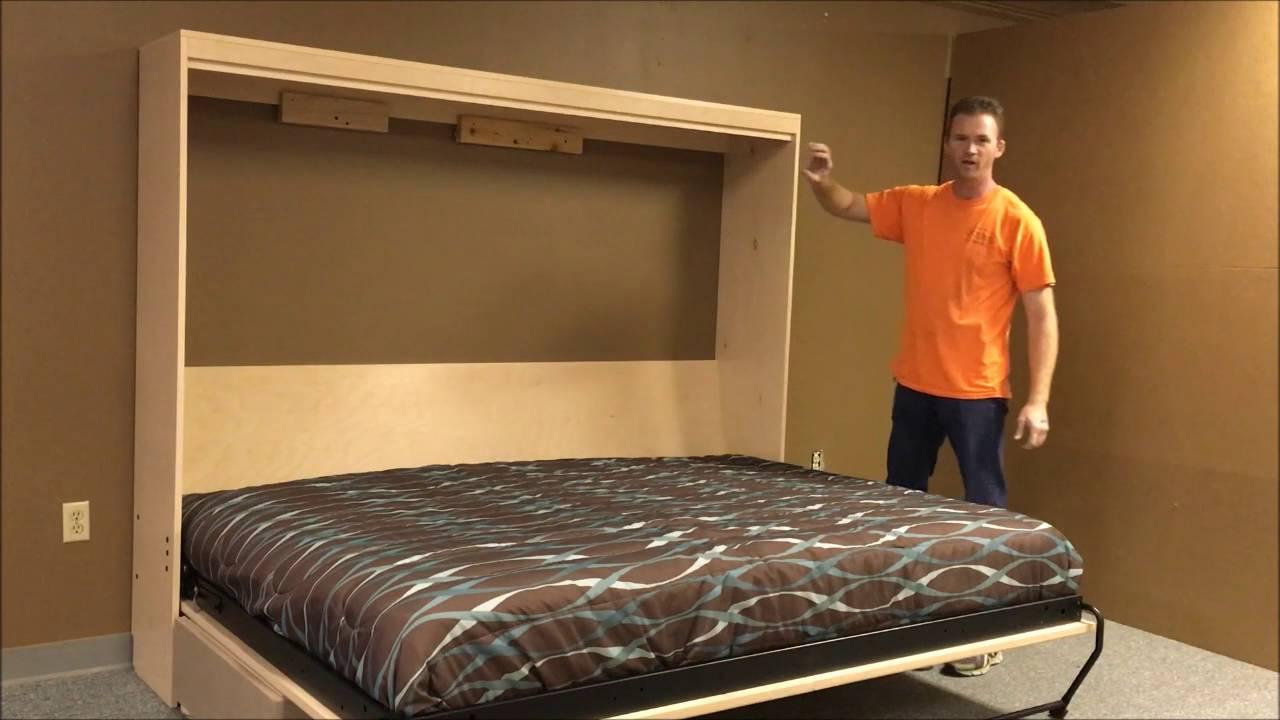 Horizontal Templeton Murphy Bed With Sofa Doovi