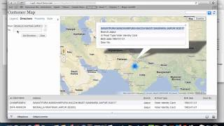 Google map integration with salesforce