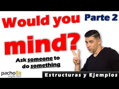 Would You Mind Ing Polite Questions Estructura Y