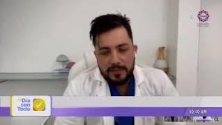 Doctor Camilo Consuegra entrevista en Telepacifico Al día con todo  19 de noviembre del 2020