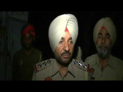 JHANJAR TV NEWS FROM PUNJAB LUDHIANA MANPREET BADAL GETS STING OPERATION OF POLICEMEN TAKING BRIBE I