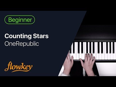 One Republic Counting Stars Easy Piano Arrangement For Beginners