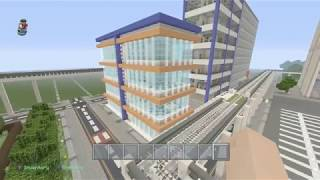 Minecraft Golem city buildings ep 6 two buildings one episode