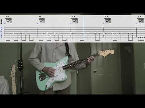 The Lively Ones - Goofy Foot - Surf Guitar Cover With Tabs